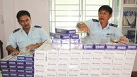 Tiền bán thuốc lá lậu bị bắt giữ phải nộp vào NSNN