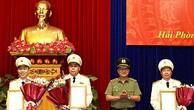Bộ Công an bổ nhiệm lãnh đạo công an tại 10 tỉnh