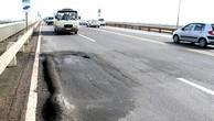 Hơn 10.000m2 mặt cầu Thăng Long bị hằn lún