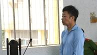 Bị cáo Y Tuyến Ksơr tại phiên tòa