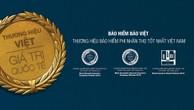 Thương hiệu Bảo hiểm Phi nhân thọ tốt nhất Việt Nam 2018 (Best Brand Magazine)