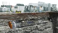 Đồ họa máy đào hầm theo công nghệ TBM. Ảnh: MRB