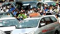 """Taxi truyền thống """"đấu tố"""" Bộ Giao thông, sợ phá sản vì taxi công nghệ, Grab"""