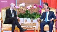 Thủ tướng Nguyễn Xuân Phúc tiếp lãnh đạo Facebook