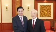 Việt Nam, Lào triển khai hiệu quả các thỏa thuận giữa lãnh đạo cấp cao hai nước