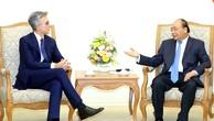 Thủ tướng Nguyễn Xuân Phúc và Chủ tịch Tập đoàn SAP Bill McDermott - Ảnh: VGP