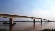 Cầu Văn Lang nối Phú Thọ và Hà Nội được thông xe