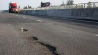 Tổng cục Đường bộ: 'Ổ gà trên cao tốc Đà Nẵng - Quảng Ngãi do lỗi thi công'