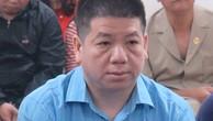 Lâm Hữu Sơn tại phiên toà sơ thẩm bảy tháng trước. Ảnh: PV