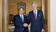 Thủ tướng Nguyễn Xuân Phúc hội kiến Nhà vua Bỉ Phillippe