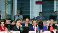 Thủ tướng Nguyễn Xuân Phúc phát biểu tại Hội nghị. Ảnh: VGP