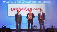 """Vietjet được vinh danh là """"Hãng hàng không tiên phong"""" tại The Guide Awards 2018"""