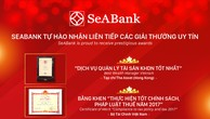 """SeABank lần thứ 2 liên tiếp nhận giải thưởng """"Best Wealth Manager Vietnam"""""""