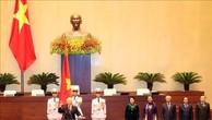 Hình ảnh Lễ tuyên thệ của Chủ tịch nước Nguyễn Phú Trọng