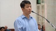 Bị cáo Trịnh Anh Minh tại phiên tòa sơ thẩm.