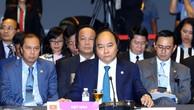 Thủ tướng Chính phủ Nguyễn Xuân Phúc tại Hội nghị Cấp cao ASEAN-Nga lần thứ 3 . Ảnh: VGP