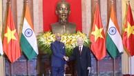 Tổng Bí thư, Chủ tịch nước hội đàm với Tổng thống Ấn Độ