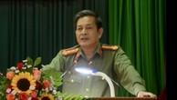 Ông Lê Văn Tam - nguyên Giám đốc Công an TP Đà Nẵng về hưu hồi cuối tháng 8 vừa qua