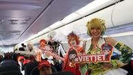 Màn trình diễn Cosplay đậm chất Nhật Bản trên tàu bay Vietjet