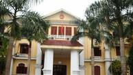 UBND huyện Thường Xuân- nơi cán bộ Thiên vừa bị Công an bắt giữ.