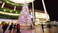 Trung tâm thương mại lung linh mùa Noel