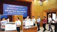 Bộ KH&ĐT quyên góp ủng hộ đồng bào bị thiệt hại do bão số 10
