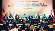 Việt Nam - Thụy Sĩ hợp tác thúc đẩy tăng trưởng xanh