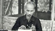 Chủ tịch Hồ Chí Minh - người sáng lập và dìu dắt nền báo chí cách mạng Việt Nam. Ảnh: TTXVN