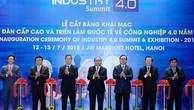 Thủ tướng Nguyễn Xuân Phúc đặt ra 4 vấn đề cần giải quyết nhằm đưa Việt Nam bứt lên trong CMCN 4.0. Ảnh: Trần Thanh Hải