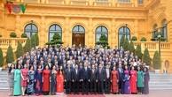 Chủ tịch nước tiếp Đoàn Trưởng các cơ quan đại diện Việt Nam ở nước ngoài