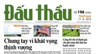 Nhiều thông tin hấp dẫn trên Báo Đấu thầu số 156 ra ngày 17/8/2018