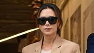 Victoria Beckham tại Tuần Lễ Thời trang London ngày 16/9 - Ảnh: BBC.