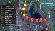 Dự án Đường sắt đô thị TP. Hà Nội tuyến 2, đoạn Nam Thăng Long - Trần Hưng Đạo dự kiến phải điều chỉnh thời gian hoàn thành đến năm 2023