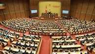 Sáng 20/11, các đại biểu Quốc hội họp phiên bế mạc Kỳ họp thứ 6 Quốc hội khóa XIV. Ảnh: Lê Tiên