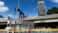 Giá dầu châu Á sụt giảm trong phiên 22/11. AFP/TTXVN