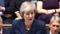 Thủ tướng Anh Theresa May phát biểu trước Hạ viện Anh ngày 12/12 - Ảnh: Reuters.