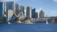 Thành phố Sydney của Australia.
