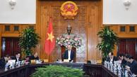 Thủ tướng Nguyễn Xuân Phúc chủ trì cuộc họp Thường trực Chính phủ bàn về một số công tác của Tiểu ban Kinh tế - Xã hội chuẩn bị cho Đại hội XIII của Đảng. Ảnh: Hiếu Nguyễn