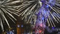 Châu Âu tưng bừng đón năm mới 2016