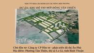 Bình Thuận xin chuyển đổi đất lúa và giao đất cho nhà đầu tư không qua đấu giá