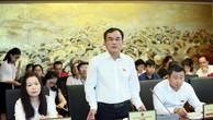 Chủ tịch Tập đoàn Điện lực Việt Nam Dương Quang Thành giải trình thêm về việc tăng giá điện tại Phiên thảo luận tổ diễn ra sáng 22/5