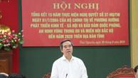 Trưởng Ban Kinh tế Trung ương Nguyễn Văn Bình phát biểu tại Hội nghị