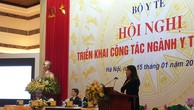 Bộ trưởng Bộ Y tế Nguyễn Thị Kim Tiến báo cáo kết quả công tác năm 2018 và triển khai nhiệm vụ năm 2019