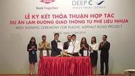 Dow và Deep C hợp tác làm đường giao thông từ phế liệu nhựa tại Việt Nam