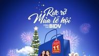 """Tưng bừng mua sắm cùng chương trình """"Rực rỡ mùa lễ hội cùng thẻ BIDV"""""""