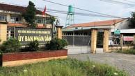 Trụ sở Công an xã nằm trong khuôn viên UBND xã Hòa Khánh Tây, huyện Đức Hòa, tỉnh Long An.