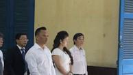 Bà Lê Hoàng Diếp Thảo tại tòa.