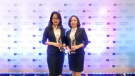 """Đại diện BIDV nhận giải thưởng """"Thẻ tín dụng tốt nhất Việt Nam năm 2018"""