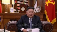 Chủ tịch Đảng Lao động Triều Tiên, Chủ tịch Ủy ban Quốc vụ nước Cộng hoà dân chủ nhân dân Triều Tiên Kim Jong Un sẽ thăm hữu nghị chính thức Việt Nam trong những ngày sắp tới. Ảnh TTXVN