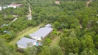 Khuôn viên nhà vườn của ca sỹ Mỹ Linh.